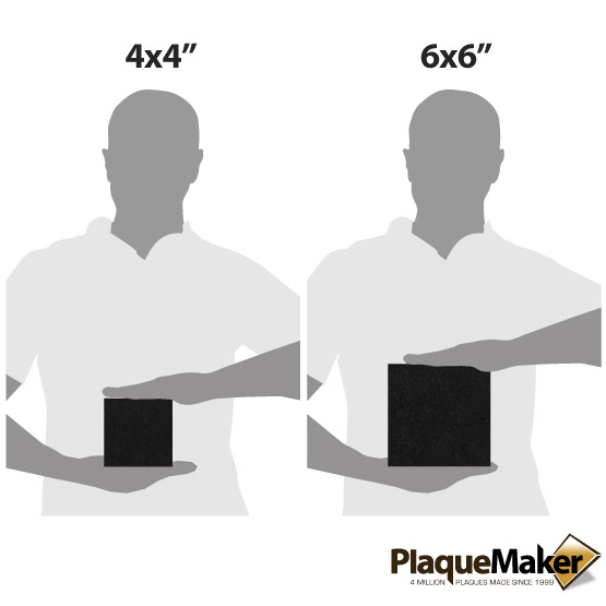 Black Granite Tile Size Chart