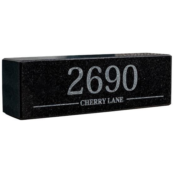Address Granite Pillars