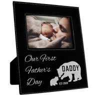 Our First Father's Day Frame