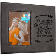 Gray Message Picture Frame