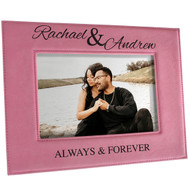 Always and Forever Pink Frame