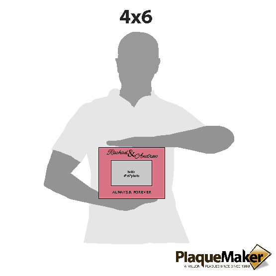 Always and Forever Pink Frame Sizes