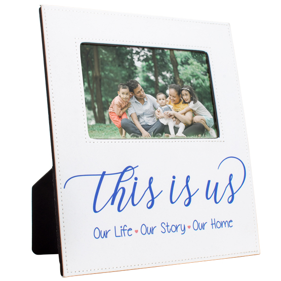 Sublimated Message Picture Frame