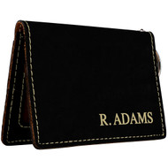 Black with Gold Wallet