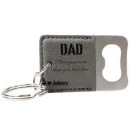 Dad Keychain Bottle Opener