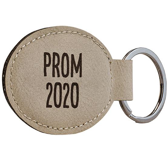 Prom Light Leatherette Keychain