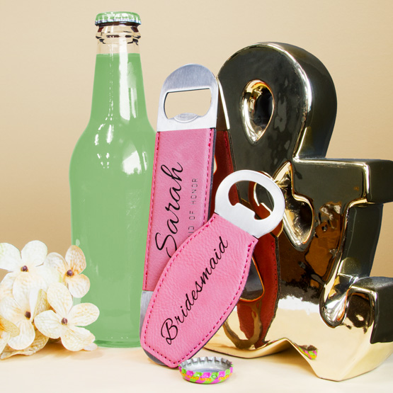 Pink Magnetic and Bottle Opener