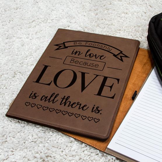 Foolishly in Love Notebook