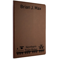Dark Leatherette Notebook