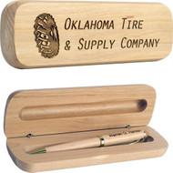 Custom Wood Pens - Maple Wood