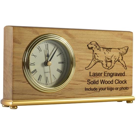 landscape red alder clock