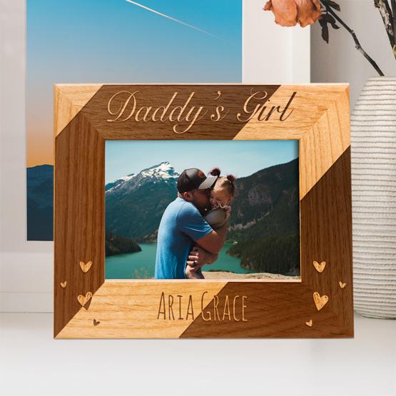 Daddy's Girl Red Alder Frame