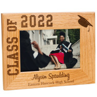 Class of Red Alder Graduation Frame