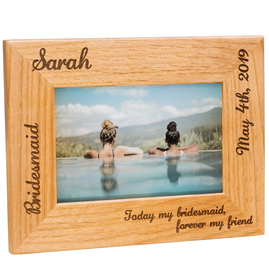 Maid of Honor or Bridesmaid Frame
