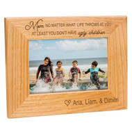 Mom with Ugly Children Frame