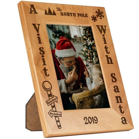 Santa Visit Frame