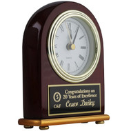 Custom Clock - Portrait Rosewood Piano Finish