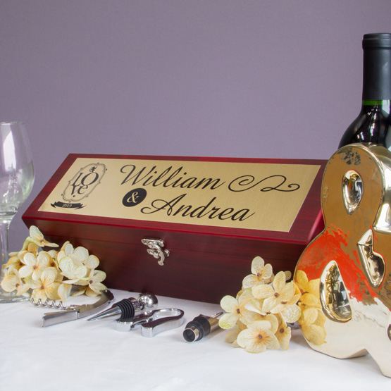 Rosewood Wine Boxes