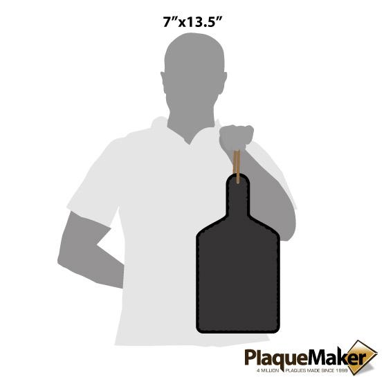 Slate Paddle Decor Size Guide