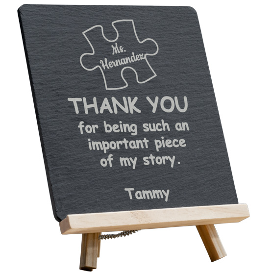 Piece of My Story Slate Easel