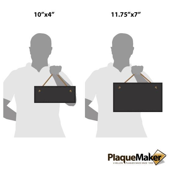 Slate Rectangle Size Guide