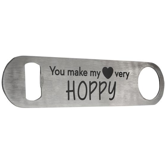 Hoppy Heart Bottle Opener