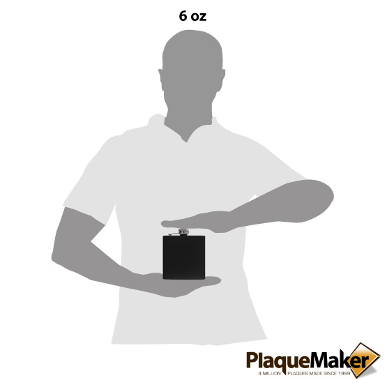 Black Flask Size