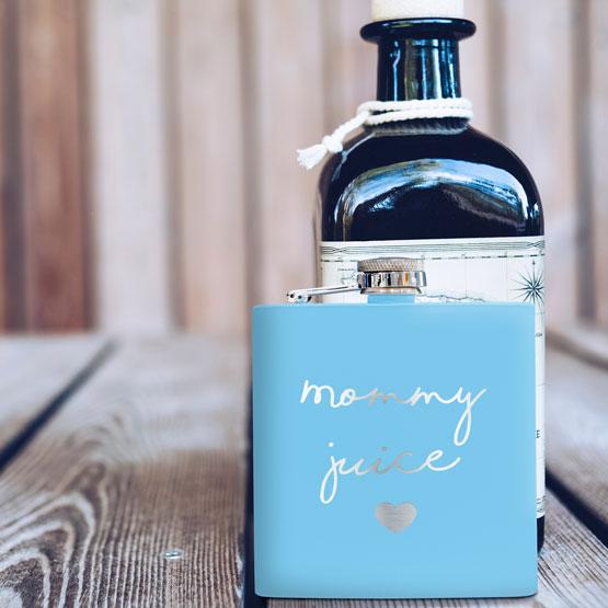Light Blue Flask