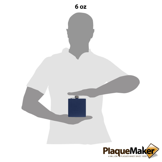 Navy Flask Size