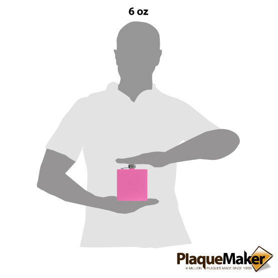 Pink Flask Size