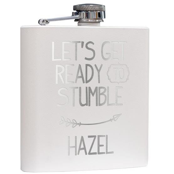 White Flask