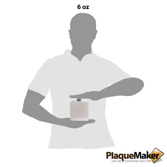 White Flask Size