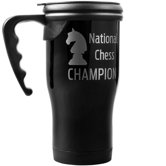 Black Travel Mug w/ Handle
