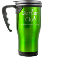 Green Travel Mug w/Handle
