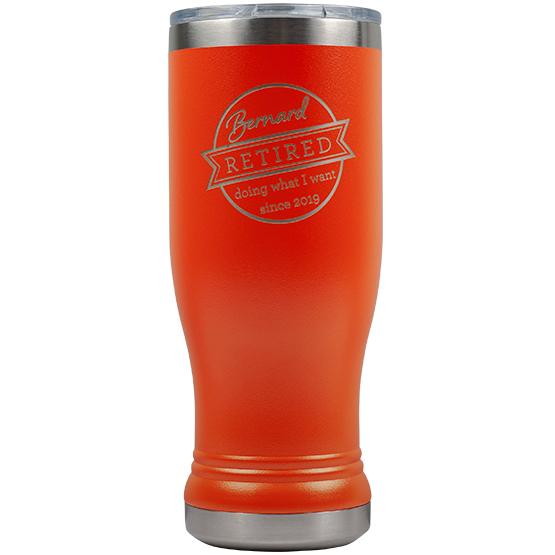Orange Pilsner Tumbler