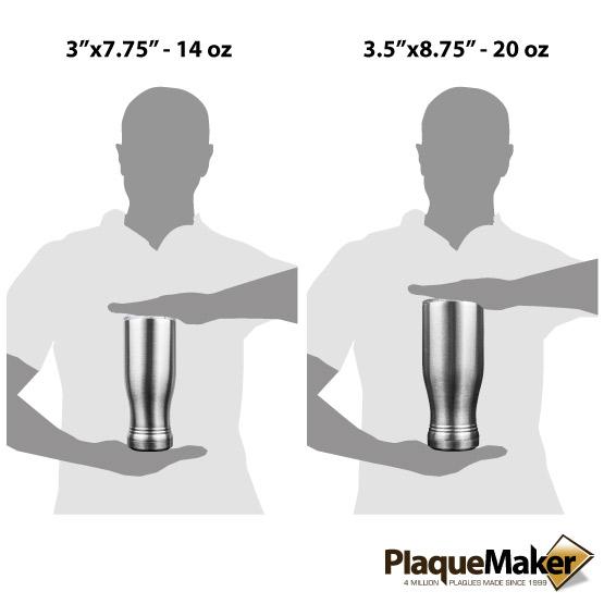 Silver Pilsner Sizes