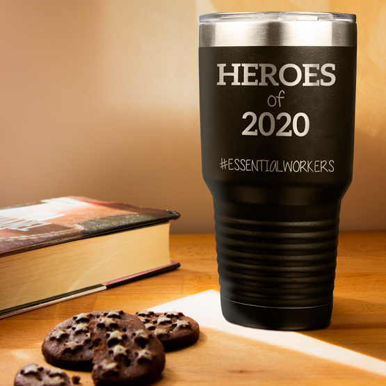 Heroes of 2020 Essential Tumbler