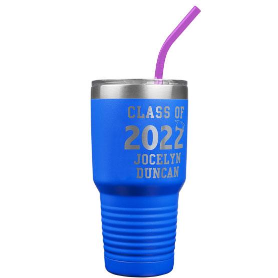 30 oz Class of Blue Tumbler