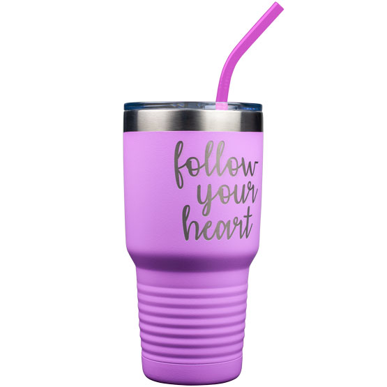 30 oz Light Purple Tumbler