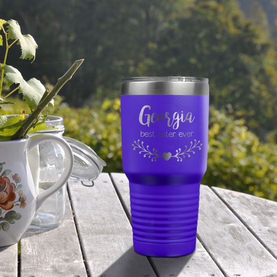30 oz Purple Tumbler