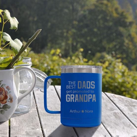 15 oz Royal Blue Tumbler Mug