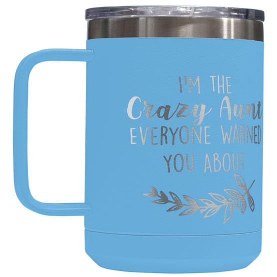 15 oz Light Blue Tumbler Mug