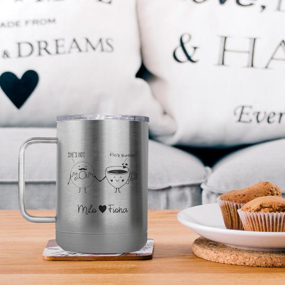 15 oz Stainless Steel Tumbler Mug