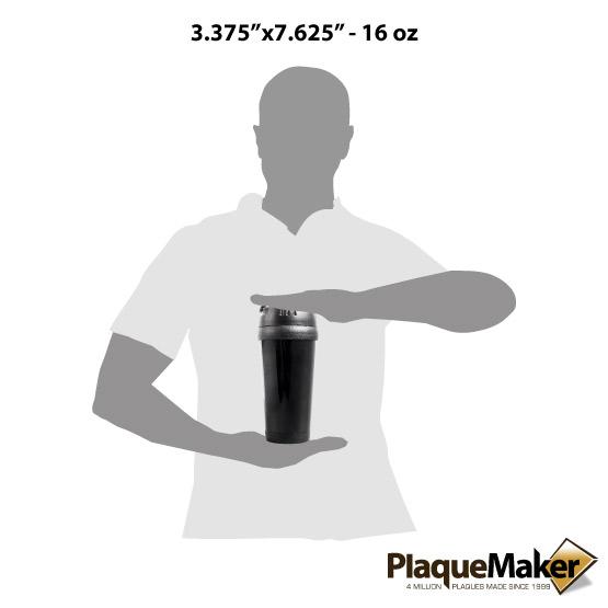Black Travel Mug Sizes