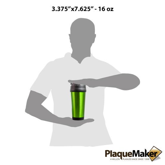 Green Travel Mug Sizes