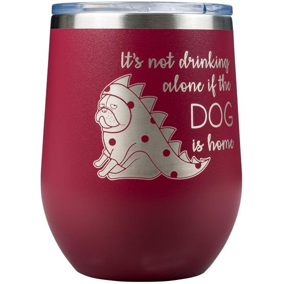 Maroon Wine Tumbler