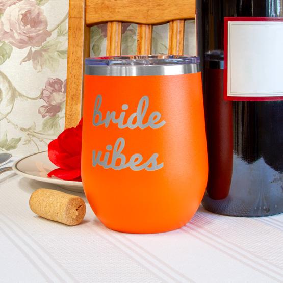 Orange Wine Tumbler