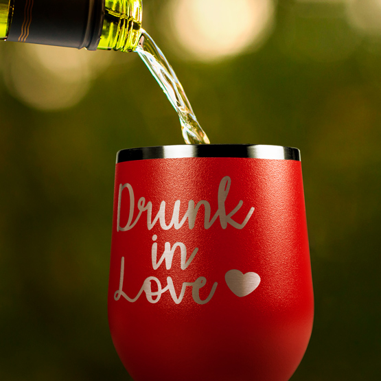 Drunk in Love Wine Tumbler