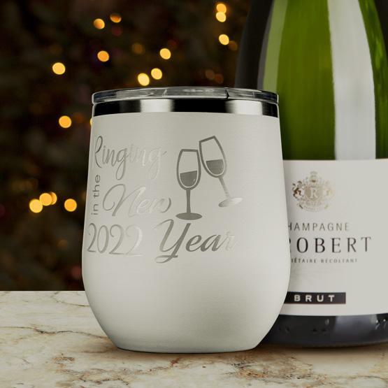 New Year Wine Tumbler