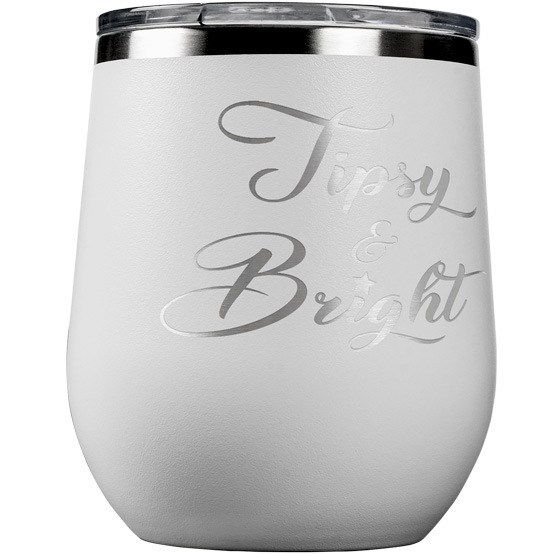 Tipsy and Bright Wine Tumbler